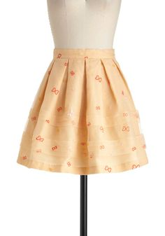 """""""Cocoon-er or Later Skirt"""" by ModCloth."""
