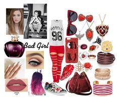 """Sin título #125"" by gianefarias on Polyvore featuring moda, Ally Fashion, Vans, Chanel, Cara, Chiara Ferragni, Dolce&Gabbana, Red Camel, Mawi y Sif Jakobs Jewellery"