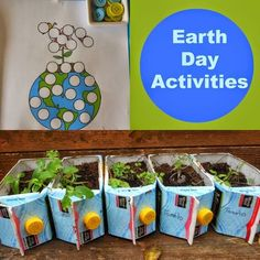 Earth Day Activities for Everyone Earth Day Activities for kids, Spring Activities, Printables, Baby sensory play, DIY Spring … Earth Day Activities, Spring Activities, Science Activities, Day Care Activities, Recycling Activities For Kids, Playgroup Activities, Nature Activities, Science Nature, Earth Day Projects