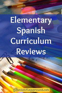 Elementary Spanish Curriculum Reviews & Secondary Stars - Spanish Playground