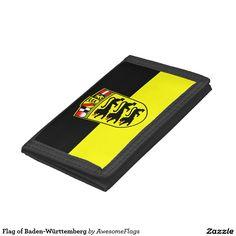 Flag of Baden-Württemberg Tri-fold Wallets