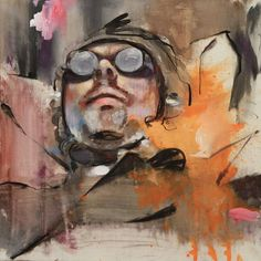 """Saatchi Online Artist: Lou ROS; Acrylic, 2012, Painting """"Study for COME AND SEE n°30"""""""
