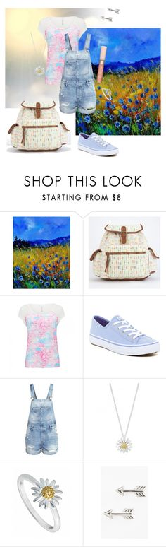 """""""Nebraska outfit"""" by himathebun ❤ liked on Polyvore featuring T-shirt & Jeans, Forever New, Keds, H&M, Daisy Jewellery, Tomas, Paul & Joe, women's clothing, women's fashion and women"""