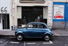 Paris car parking