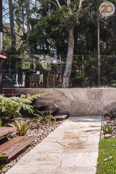 Queensland's Leading Stone Pavers servicing Brisbane, Sunshine Coast & NSW homes. Natural Stone Pavers, Natural Stones, Ashlar Pattern, Modern Backyard Design, Crazy Paving, Travertine Pavers, Pool Coping, Thing 1, Pool Ideas