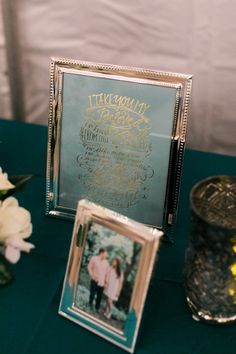 Vows print from Southern Weddings