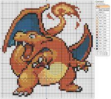 Pokemon - Charizard II by Makibird-Stitching