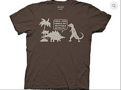 """Curse Your Sudden Tee Brown """"AND WE SHALL CALL IT... THIS LAND.""""  #joss #whedon #josswhedon #merch #firefly #serenity #whedonverse #tee #tshirt  #wash #washburne #dino #dinosaur #betrayal #curse #brown"""