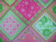 "Cyrus Clark ""Bandana"" fabric - perfect for a girly farm party."
