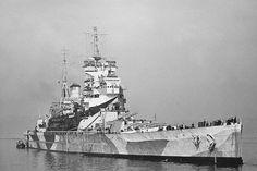 HMS Duke of York (17) King George V-class battleship of the British Royal Navy. (google.image) 7.17
