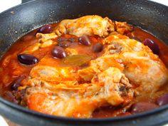 Tocanita de iepure cu masline Meat Steak, Romanian Food, Paella, Lamb, French Toast, Good Food, Pork, Favorite Recipes, Beef