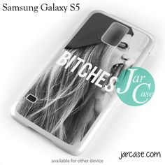 Cara Delevingne Bitches Phone case for samsung galaxy S3/S4/S5