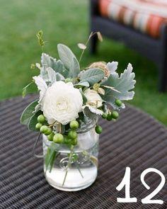 simple wedding arrangement