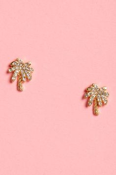 palm tree sparkling studs<3 Get 7% Cash Back http://www.studentrate.com/itp/get-itp-student-deals/lulu-s-Student-Discount--/0