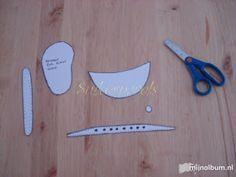 El taller de karoly: Patrones de fofucha peluquera