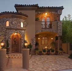 Interior Design Group serving San Diego, Lajolla and Southern California. Classic House Design, House Front Design, Dream Home Design, Home Design Plans, Modern House Design, Spanish Style Homes, Tuscan Style Homes, Luxury Homes Dream Houses, Luxury House Plans