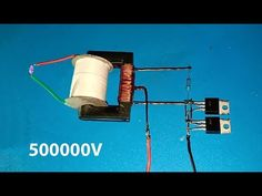 High voltage converter , Boost converter using dual mosfet Electronics Mini Projects, Electrical Projects, Diy Electronics, Electronic Engineering, Electrical Engineering, Chemical Engineering, Civil Engineering, Science Crafts, Science Experiments Kids