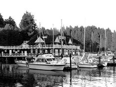 Historic Vancouver Rowing Club by Will Borden.