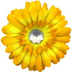 Yellow/Merigold Gerber Daisy Hair Clip Baby Bee Costume, Gerber Daisies, Hair Clips, Create Your Own, Daisy, Costumes, Yellow, Hair Rods, Gerbera