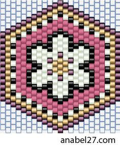 Серьги - схемы мозаика / Earrings - peyote patterns   - Схемы для бисероплетения / Free bead patterns -