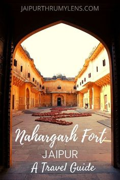 How To Explore The Nahargarh Fort | All You Need To Know – JaipurThruMyLens Everything to know about the history, architecture, timing, entry fee, how to reach Nahargarh Fort in Jaipur. A travel blog guide to the most happening places in Jaipur  #Jaipur #travel #guide #Rajasthan #India #architecture #tourism #heritage