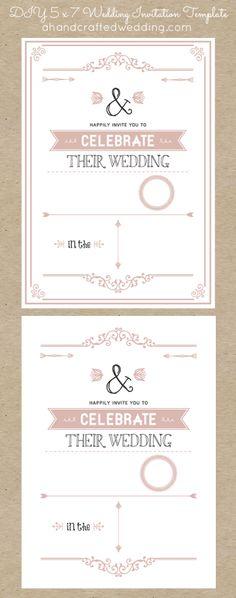 DIY-5x7-Rustic-Chic-Wedding-Invitation-Template-dusty-rose-ahandcraftedwedding
