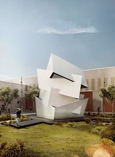 daniel libeskind places beyond the wall at cosentino's spanish headquarters