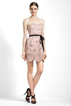 BCBG Mia Strapless Taffeta Dress on sale $175. I think I'm in looooooovvveee.