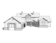Addison - A traditional style rambler house plan - Walker Home ...