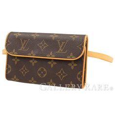Auth-Louis-Vuitton-Waist-Pack-Pochette-Florentine-Monogram-Bag-M51855-GR-1732511