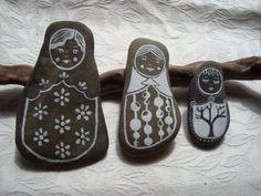 Recicla Inventa: Piedras originales, piedras pintadas