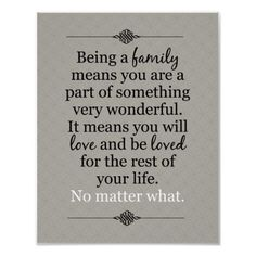 Unfortunately, this is not true about all families. It applies to mine, though. It is the legacy of my Uncle Royce, who died when he was 9 years old. My family knows how precious time is, that it cannot be wasted feeling angry, bitter, or jealous toward those who the Lord has gifted us with as family. Time is to be spent loving.