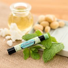 Keep cool, calm, creamy, and caffeinated with this chocolaty mint lip balm, featuring hydrating shea butter, cocoa butter, beeswax, jojoba, and a zip of caffeine. Apply lavishly for first impressions and goodbye kisses. Keep your cool when carrying because this product melts easily. This item is not included in Buy 5, Get the 6th Free.