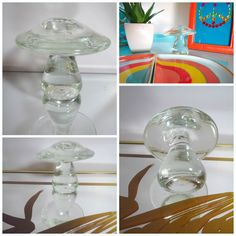 Smart Wedgwood Glass Mushroom Wedgwood Art Glass