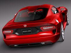 2014 Dodge Viper GTS.