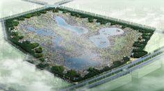 Qunli National Urban Wetland, China, Regenerated urban wetland using stormwater runoff
