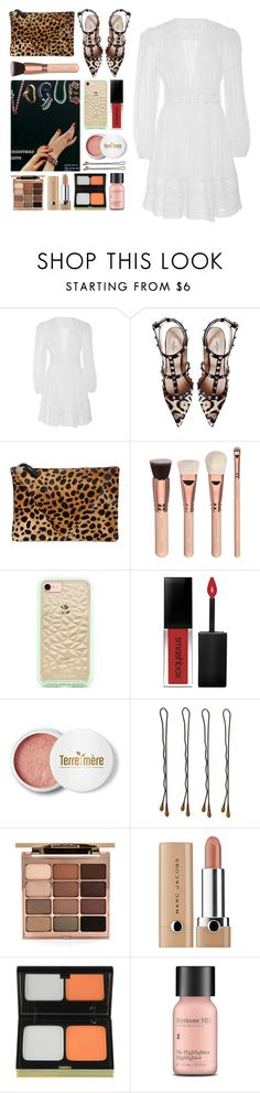 """""""5.253"""" by katrina-yeow ❤ liked on Polyvore featuring Zimmermann, Valentino, Clare V., Smashbox, Terre Mère, Vidal Sassoon, Stila, Kevyn Aucoin and Perricone MD"""