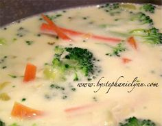 Broccoli Cheese Soup recipe - inspired by Panera Bread