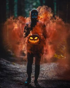 The LED Halloween Purge Mask is a perfect addition to your Halloween costume! This will terrify anyone with its light effect and create the best atmosphere for celebrating Halloween for sure Smoke Bomb Photography, Dark Photography, Creative Photography, Portrait Photography, Summer Photography, Halloween Pictures, Halloween Kostüm, Halloween Costumes, Halloween Fotografie