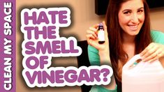 Hate the Smell of Vinegar? Watch This! Easy Cleaning Hack Idea (Clean My Space)