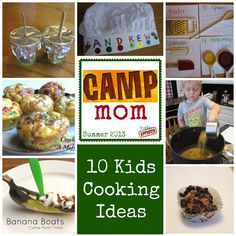 Toddler Approved!: 10 Camp Mom Cooking Activities for Kids
