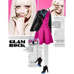 """Pink Friday - Glam Rock"" by celida-loves-pink on Polyvore"