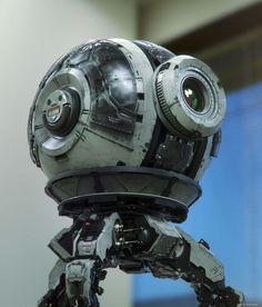 ROBO 10-S.I.O. on Behance by Julen Urrutia More robots here.: