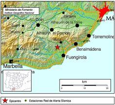 Terremoto 4 grados Mijas, Málaga, 30 mayo