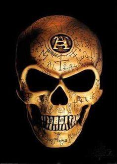 Alchemy:  #Alchemical skull.