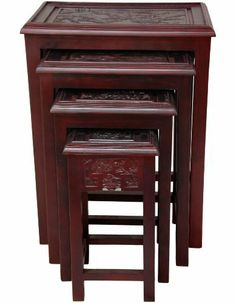 Oriental Furniture Carved Nested Tables, Cherry by ORIENTAL FURNITURE, http://www.amazon.com/dp/B007PQS0XQ/ref=cm_sw_r_pi_dp_VbVkrb0MZ3CMJ