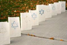 Hanukkah Luminaries to Light up the Night - Make and Takes