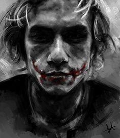 Joker- is my most favorite super villian...ugh he makes me happy just looking at him