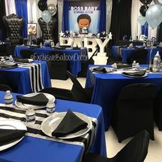 Nice and Clean 👌🏾. I am not a fan of this venue 🙅🏾♀️but this transformation tho 💁🏾♀️. For my locals this is PG parks… Baby Birthday Decorations, Baby Boy 1st Birthday Party, Boss Birthday, Baby Party, Birthday Ideas, Boy Baby Shower Themes, Baby Shower Balloons, Boy Shower, Shower Party