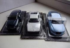 1:43 Altaya set 3 models Bentley Continental GT,BMW 1,Maserati Coupe #Altaya #BentleyContinentalGT